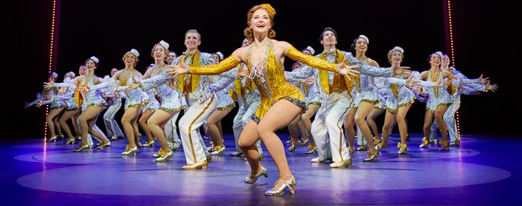 The West End cast of 42nd Street