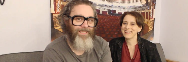 Andy Nyman and Judy Kuhn