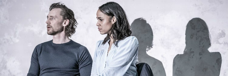 Tom Hiddleston and Zawe Ashton in Betrayal