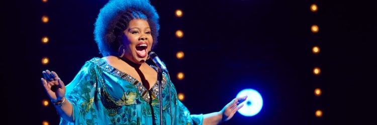Amber Riley in Dreamgirls