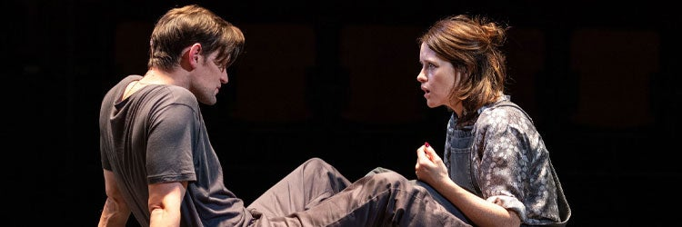 Matt Smith and Claire Foy in Lungs review