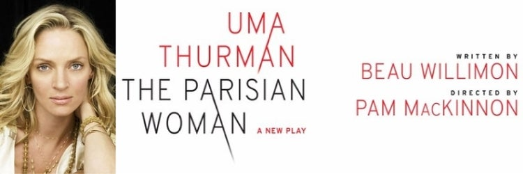Uma Thurman in The Parisian Woman