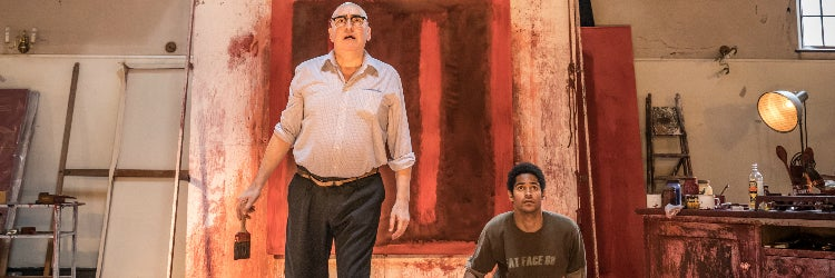 Alfred Molina and Alfred Enoch