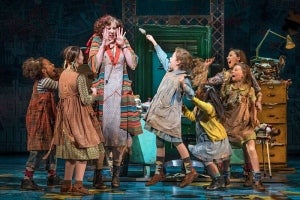 First look at Miranda Hart in Annie at the Piccadilly Theatre in London's West End