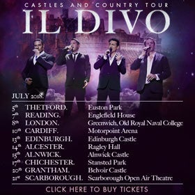 Il Divo: London at Greenwich Music Time