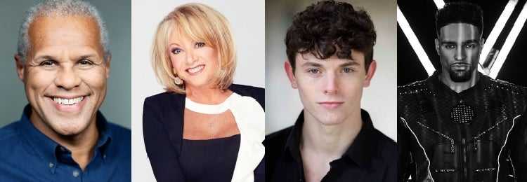 Elaine Paige, Charlie Stemp and Gary Wilmot join Dick Whittington at the Palladium