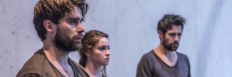 Knives in Hens rehearsals