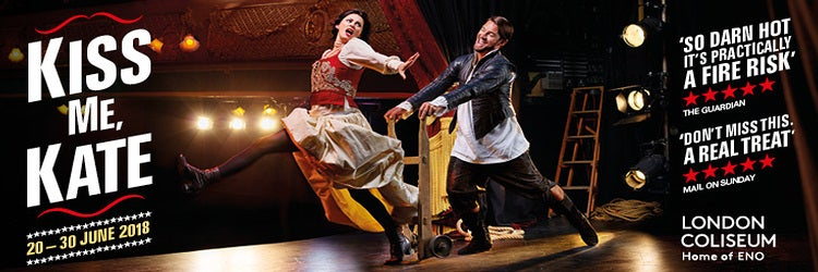Opera North's production of Kiss Me Kate transfers to the London Coliseum in 2018