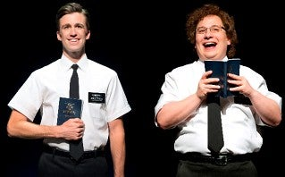 The Book Of Mormon Cast At Prince Of Wales Theatre