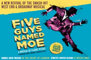 Five Guys Named Moe to be revived at the Marble Arch Theatre this summer