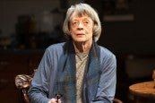 Photo credit: Maggie Smith in A German Life at the Bridge Theatre (Photo courtesy of Bridge Theatre)