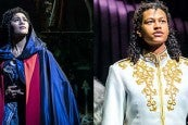 Photo credit: Lucy St. Louis and Ivano Turco (Photos courtesy of The Phantom of the Opera and Cinderella)