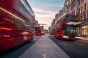 Photo credit: London buses in the West End (Photo by Lachlan Gowen on Unsplash)