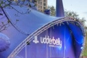 Photo credit: Underbelly Festival tent in London (Photo courtesy of Underbelly Festival)