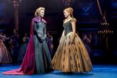 Photo credit: Samantha Barks and Stephanie McKeon in Frozen (Photo by Johan Persson)
