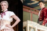 Photo credit: Stephen Ardern-Sodje in The Tempest and Emma Ernest in As You Like It (Photos by Marc Brenner)