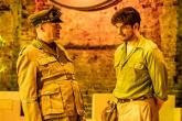 Adrian Edmondson and Ethan Kai in Once Upon a Time in Nazi Occupied Tunisia at the Almeida.(Photo by Marc Brenner)