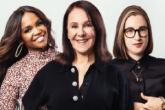 Photo credit: Oti Mabuse, Arlene Phillips and Gabriells Slade (Photo by Oliver Rosser)