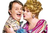 Paul Merton and Michael Ball in Hairspray