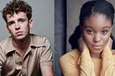 Photo credit: Laurie Kynaston and Amara Okereke (Photos by Ruth Crafer and courtesy of Independent Talent)