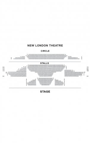 Gillian Lynne Theatre seat plan
