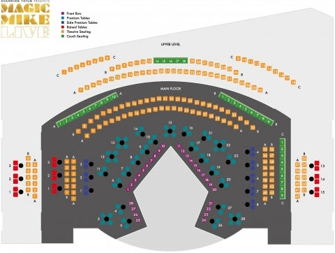 The Theatre at Hippodrome Casino (Over 18s Only) seat plan