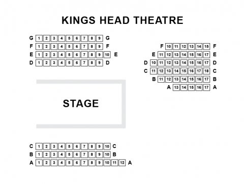 King's Head Theatre seat plan