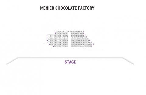 Menier Chocolate Factory seat plan