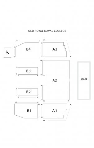 Old Royal Naval College seat plan