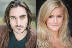 George Maguire and Rachael Wooding