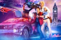 Photo credit: Artwork of Back To The Future (Photo courtesy of Amanda Malpass PR)