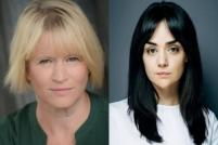 Lisa Palfrey and Hayley Squires