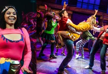 Photo credit: J'Ouvert and Heathers (Photos by Helen Murray and courtesy of Heathers original 2018 production)