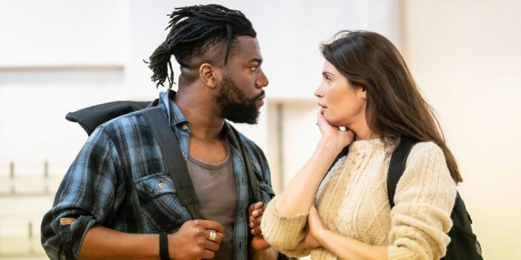 Photo credit: Walden cast in rehearsals (Photo by Johan Persson)
