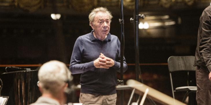 Photo credit: Andrew Lloyd Webber (Photo by Alice Whitby)
