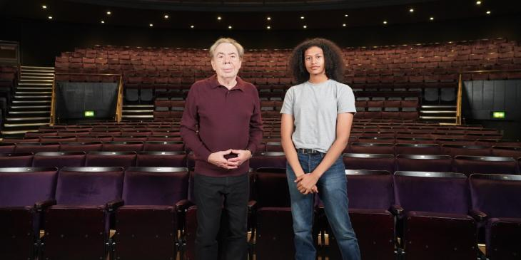Andrew Lloyd Webber and Ivano Turco