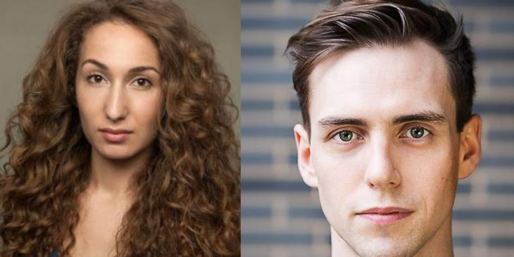 Photo credit: Emma Kingston and Jamie Muscato (Photos courtesy of Curtis Brown and Richard Southgate respectively)