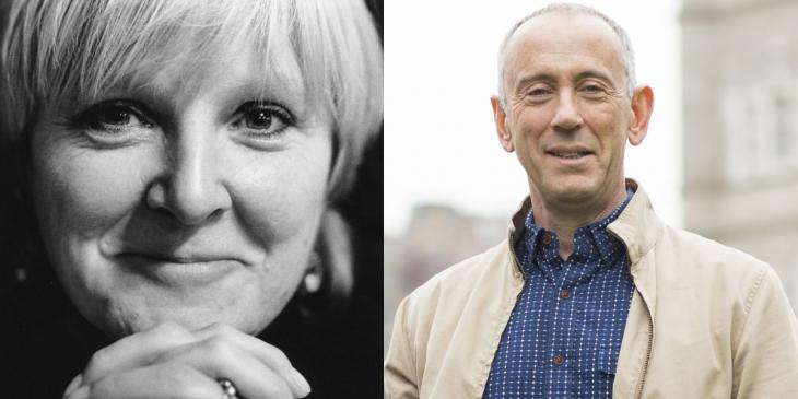Photo credit: Bryony Lavery and Nicholas Hytner (Photos courtesy of Premier Comms and by Helen Maybanks respectively)