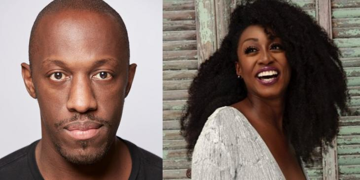 Photo credit: Giles Terera and Beverley Knight (Courtesy of PA and TDG respectively)