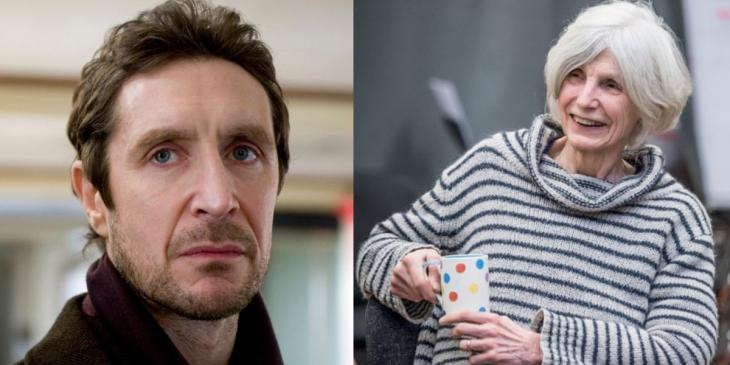 Photo credit: Paul McGann and Caryl Churchill (Photos courtesy of Chloe Nelkin Consulting and Marc Brenner respectively)