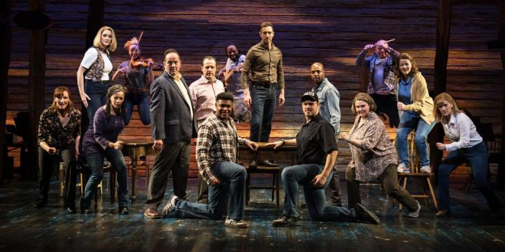 Photo credit: West End cast of Come From Away (Photo by Craig Sugden)