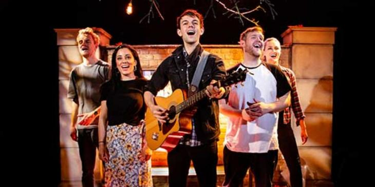 Photo credit: Fiver cast at Southwark Playhouse (Photo courtesy of Southwark Playhouse)