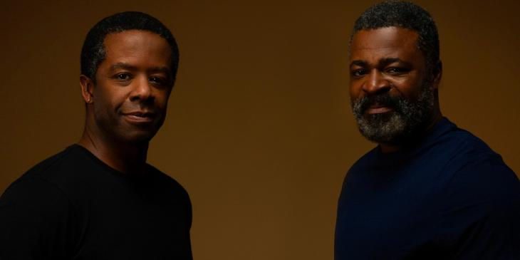 Photo credit: Adrian Lester and Danny Sapani (Photo by Zeinab Batchelor)