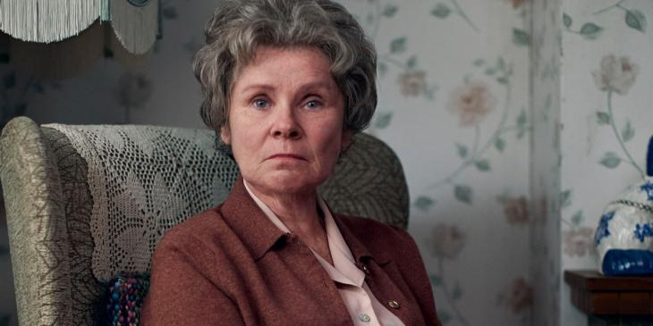 Imelda Staunton in A Lady of Letters, part of the Talking Heads series