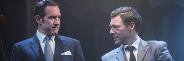 Bertie Carvel and Richard Coyle in Ink by James Graham