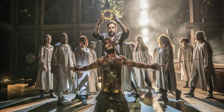 Jesus Christ Superstar at the Barbican Theatre in 2019