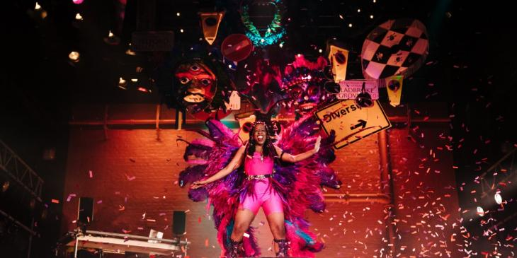 Photo credit: J''Ouvert (Photo by Helen Murray)