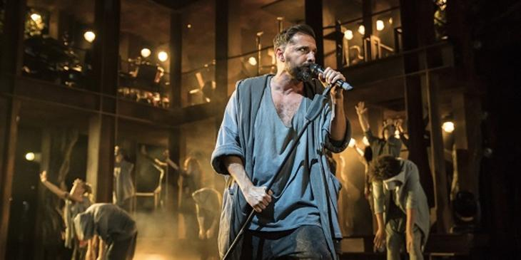 Ricardo Afonso as Judas in the Barbican Centre season