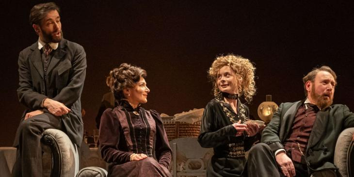 Photo credit: Previous cast of Leopoldstadt (Photo by Marc Brenner)