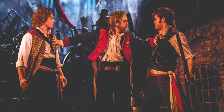 Photo credit: Les Miserables at the Sondheim Theatre (Photo by Johan Persson)